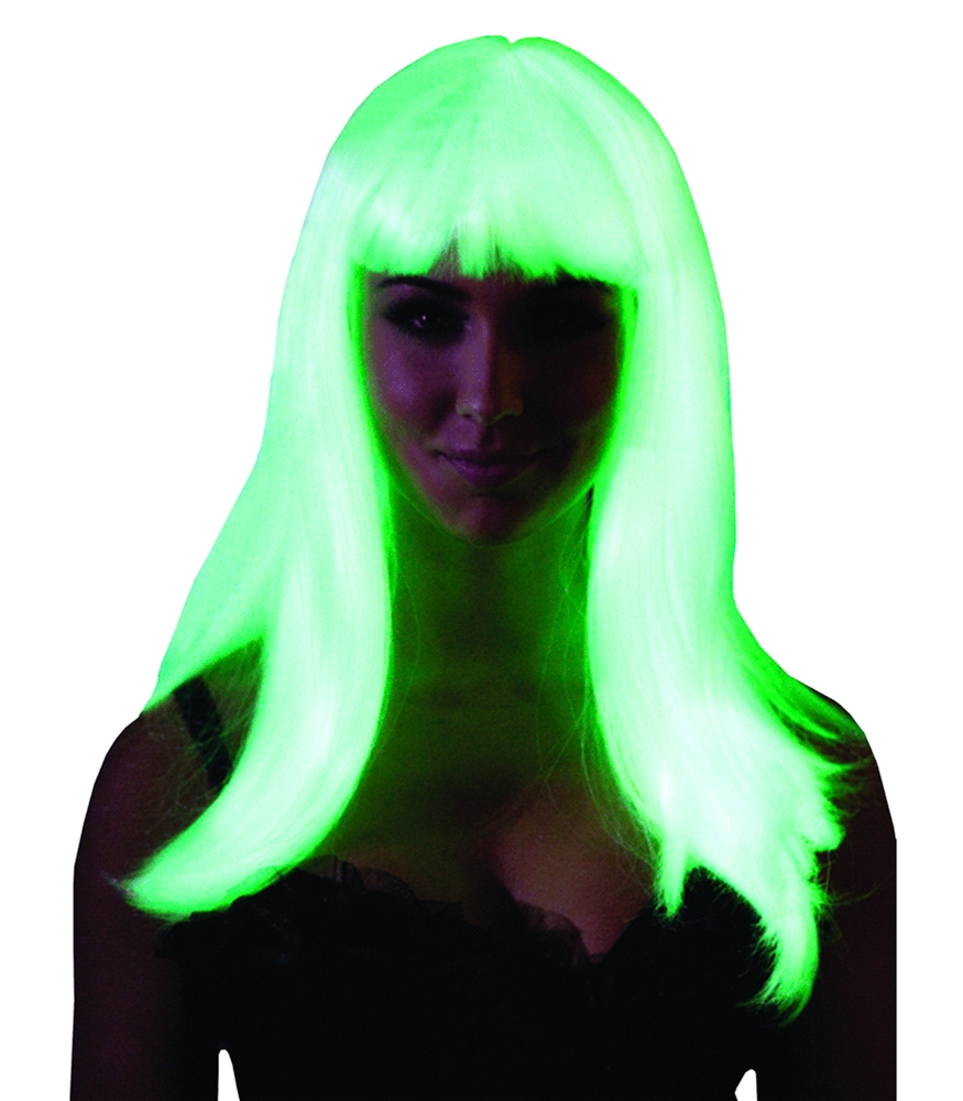 Glow in the Dark Straight Wig