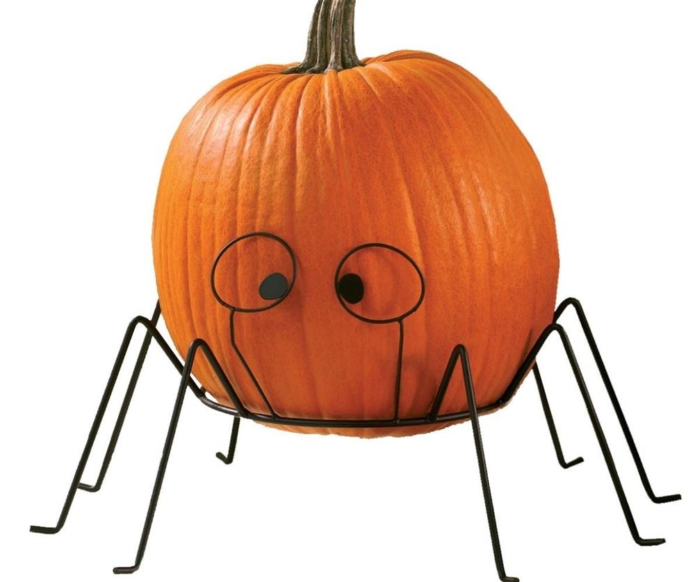 Spider Pumpkin Stand