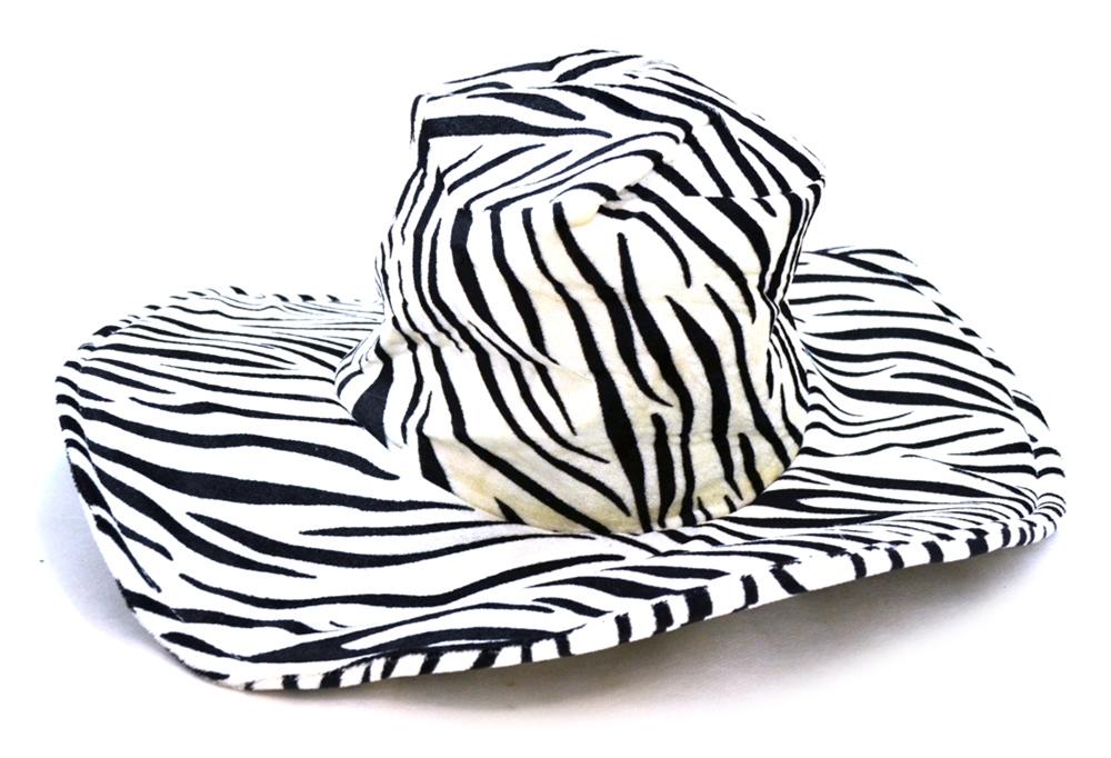 Zebra Pimp Hat