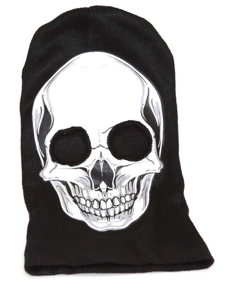 White Skull Ski Mask