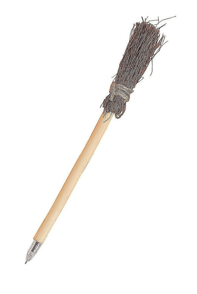 Wooden Broom Pen