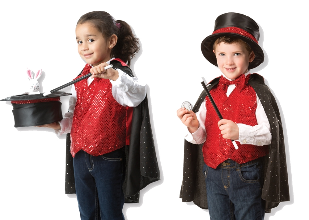 Magician Role Play Costume Set (Play Costumes)