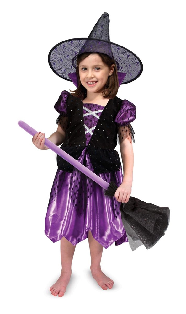 Witch Role Play Costume Set (Play Costumes)