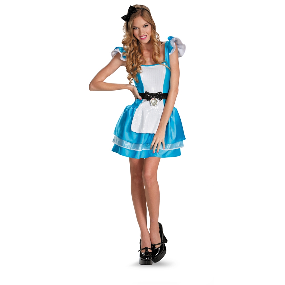Alice in Wonderland Glam Adult Womens Costume