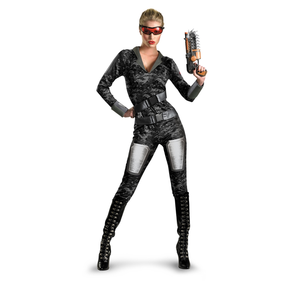 Operation Rapid Strike Commando Adult Womens Costume