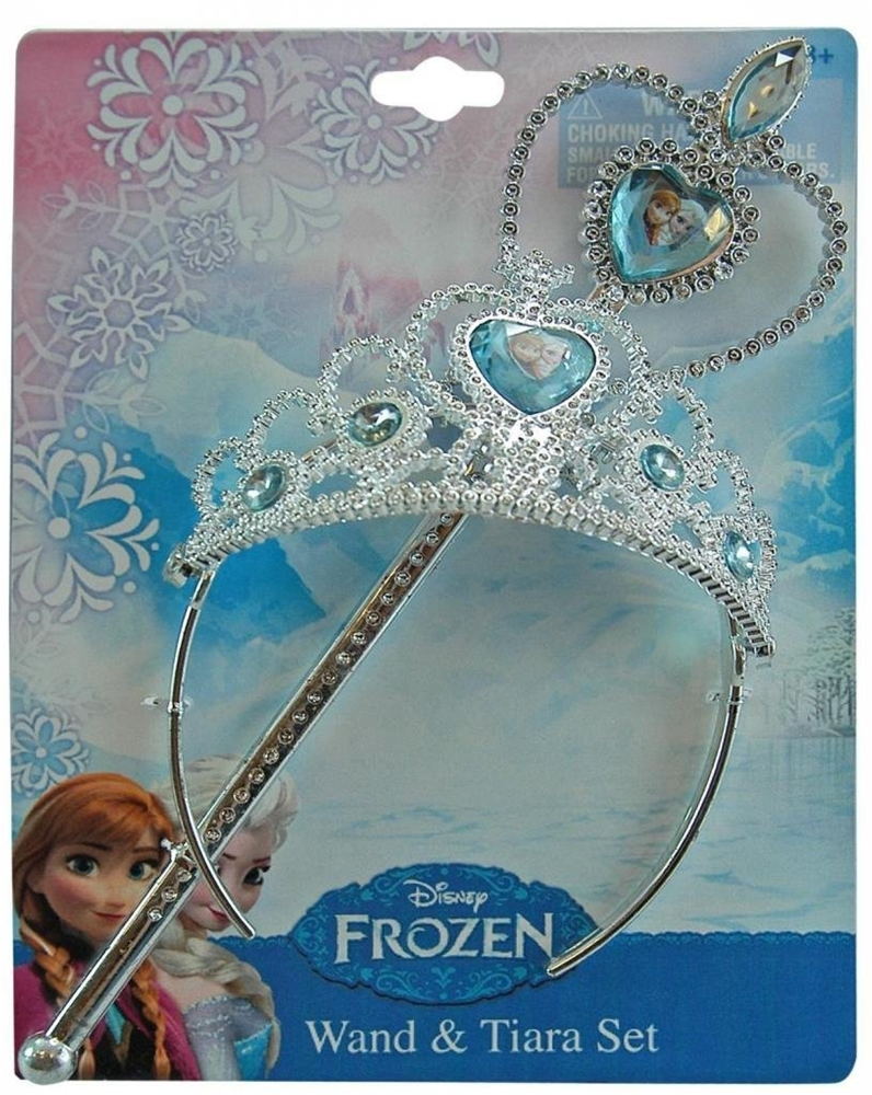 Frozen Wand & Tiara Set