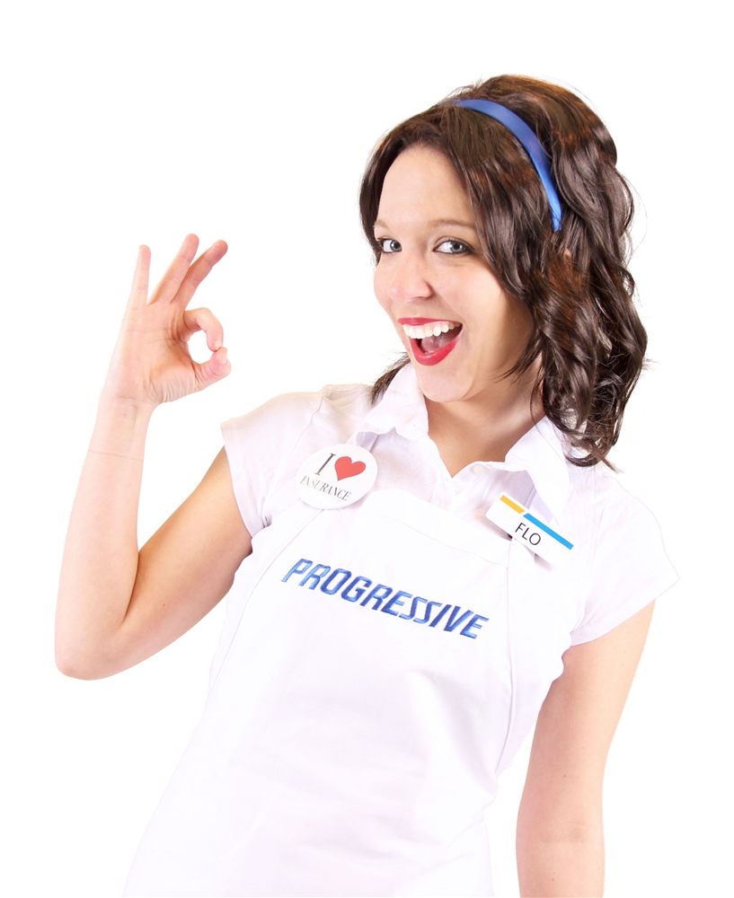 Progressive Flo Adult Costume Set