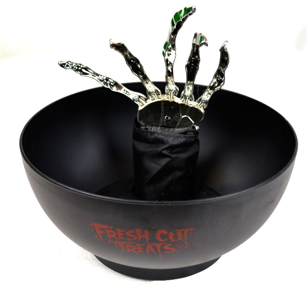 Animated Halloween Claw Candy Bowl