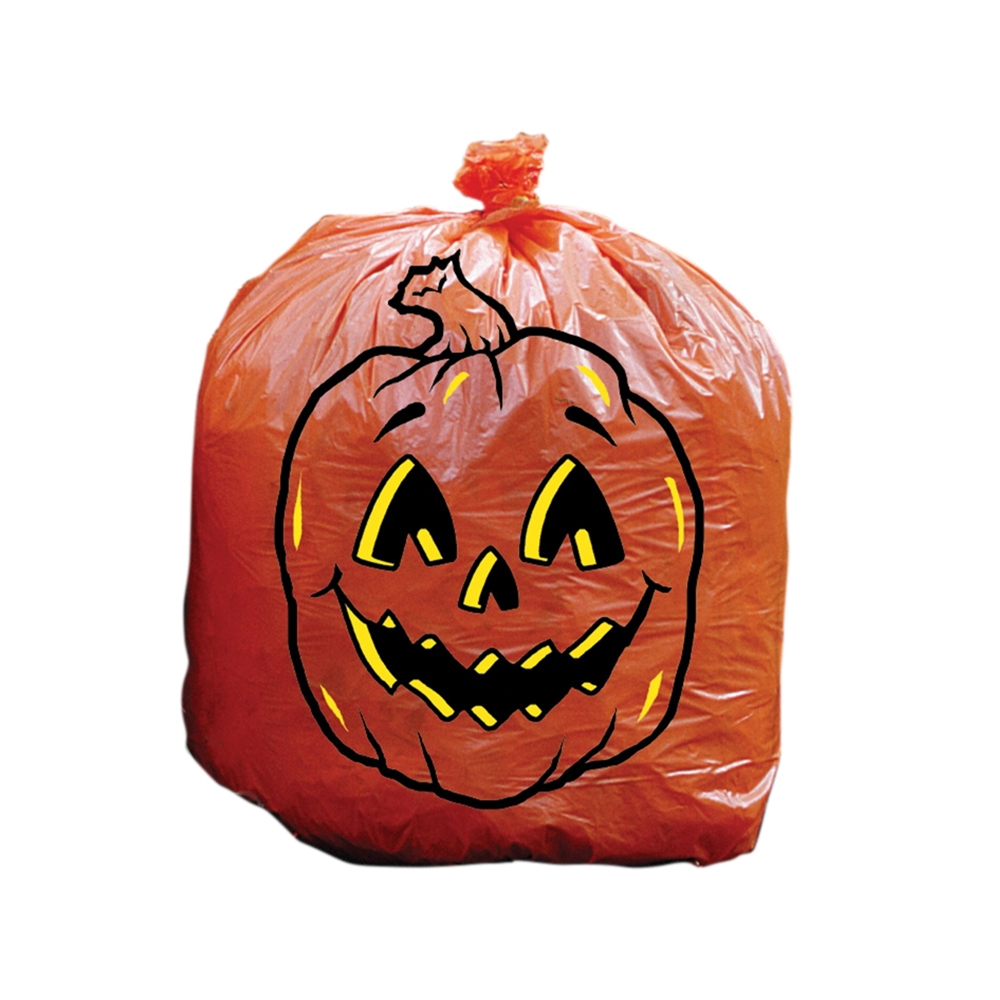Big Pumpkin Lawn Bag