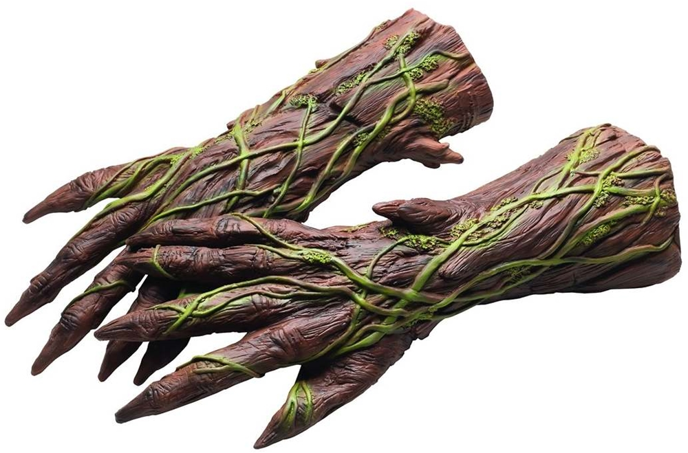 Groot Deluxe Latex Adult Gloves by Rubies