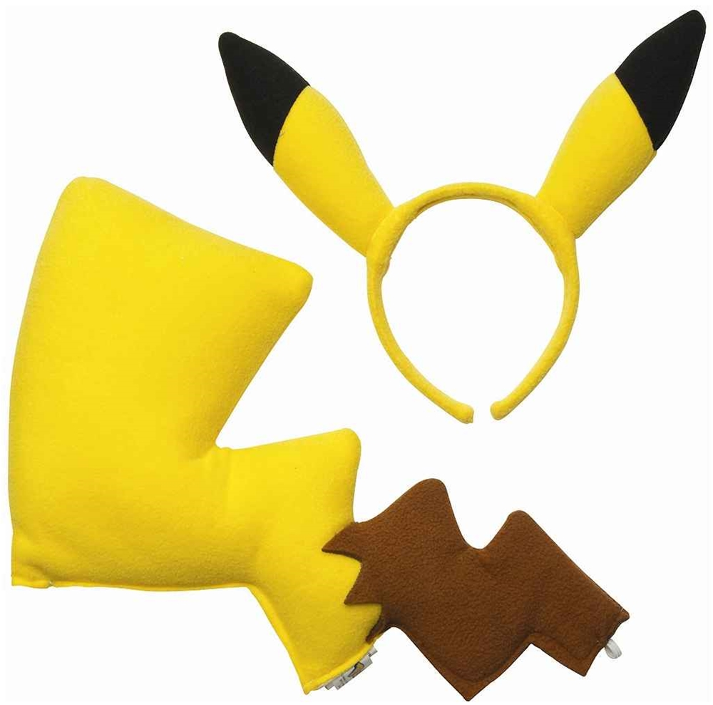 Pikachu Ears & Tail Kit