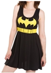 Batman-Logo-A-Line-Adult-Womens-Dress