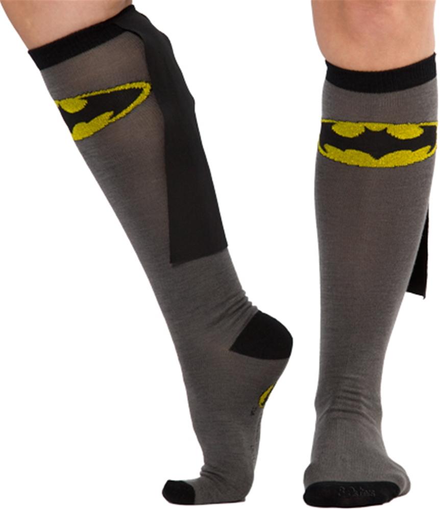 Batman Cape Socks