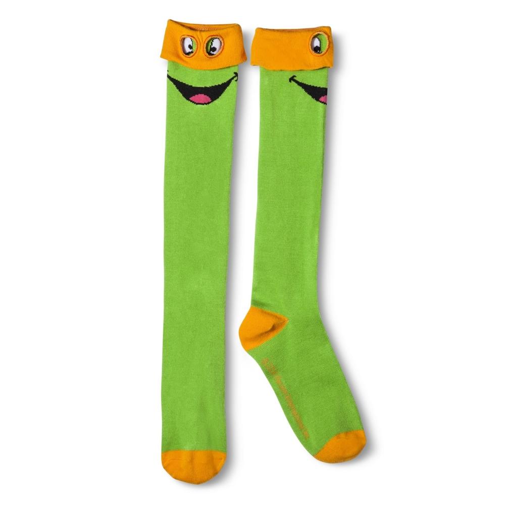 Teenage Mutant Ninja Turtles Knee High Socks with Mask (More Colors)