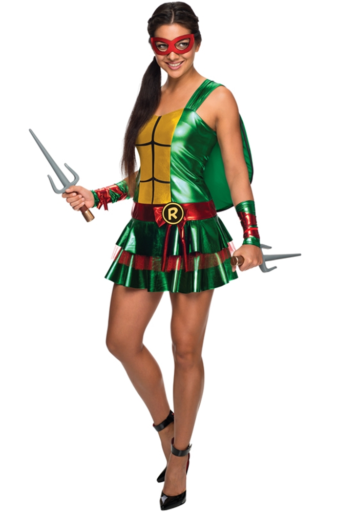 TMNT Raphael Dress Adult Womens Costume