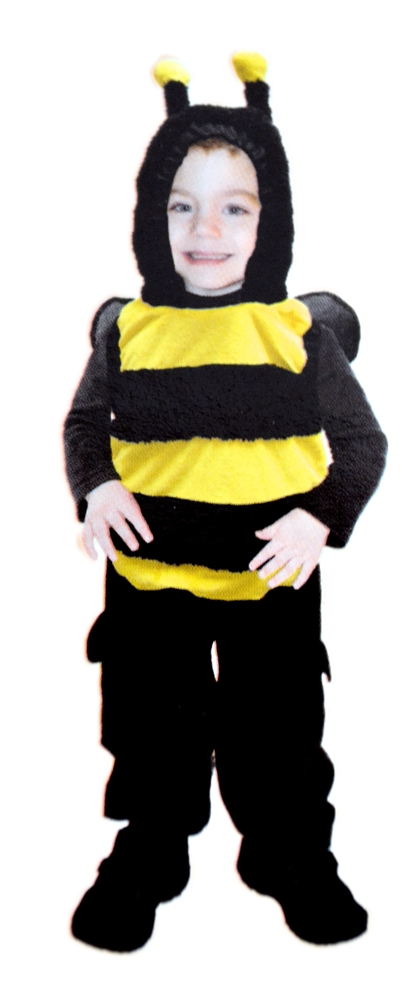 Cute Bumblebee Toddler Costume
