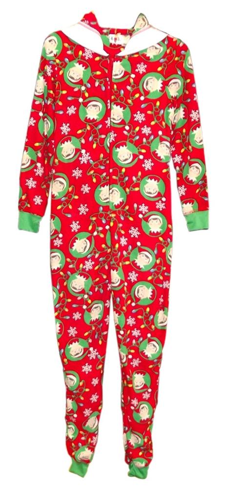 927f9a6d6f Elf on the Shelf Hooded Juniors Onesie - 341271