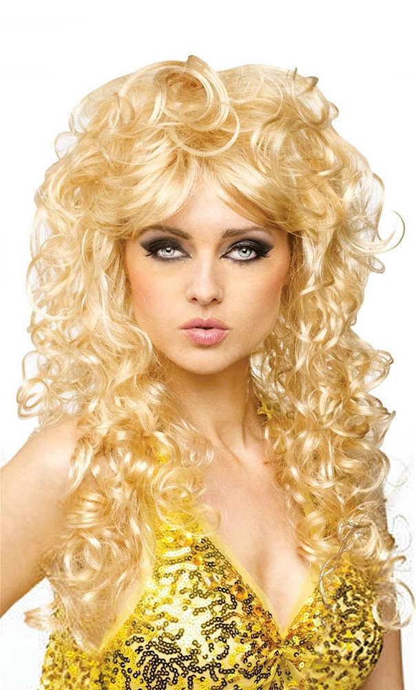70s Seduction Blonde Wig