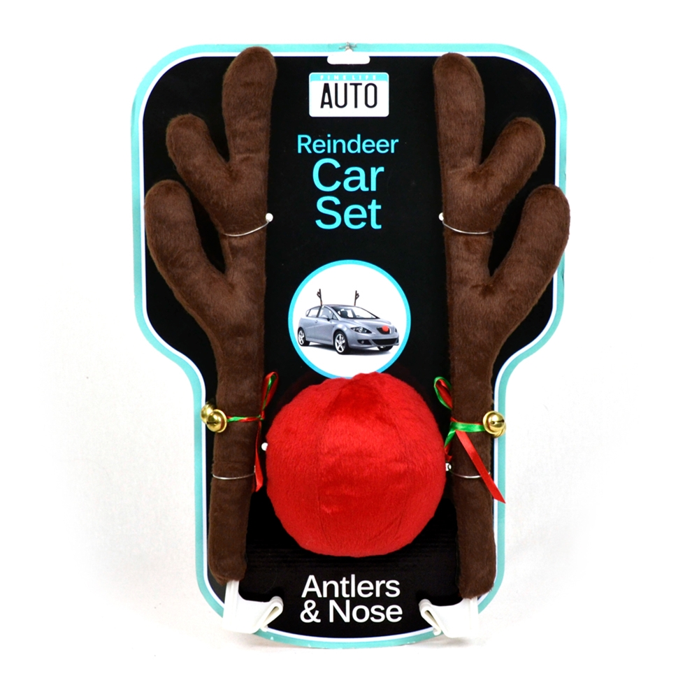 Reindeer Antlers Car Costume Set