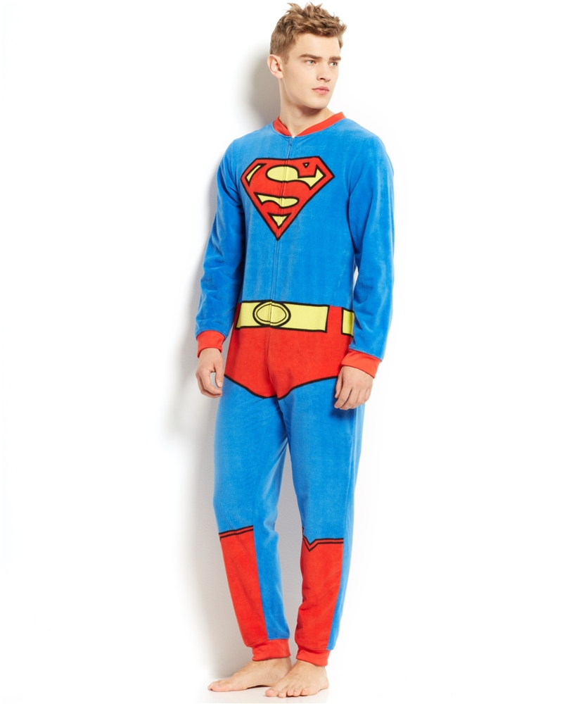 Superman Adult Onesie (Superman Adult Onesie)