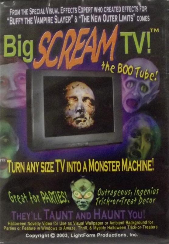 Big Scream TV DVD