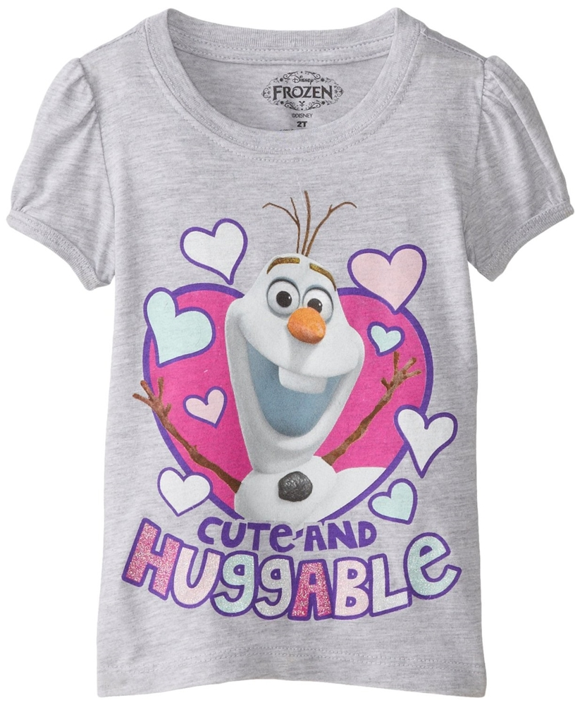 Disney Frozen Cute & Huggable Olaf Toddler T-Shirt by Freeze (KIDS)