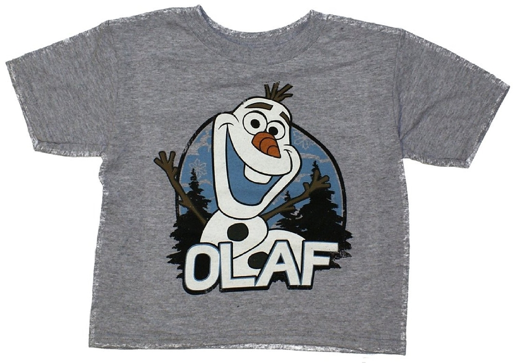 Disney Frozen Olaf Forest Toddler T-Shirt by Freeze (KIDS)