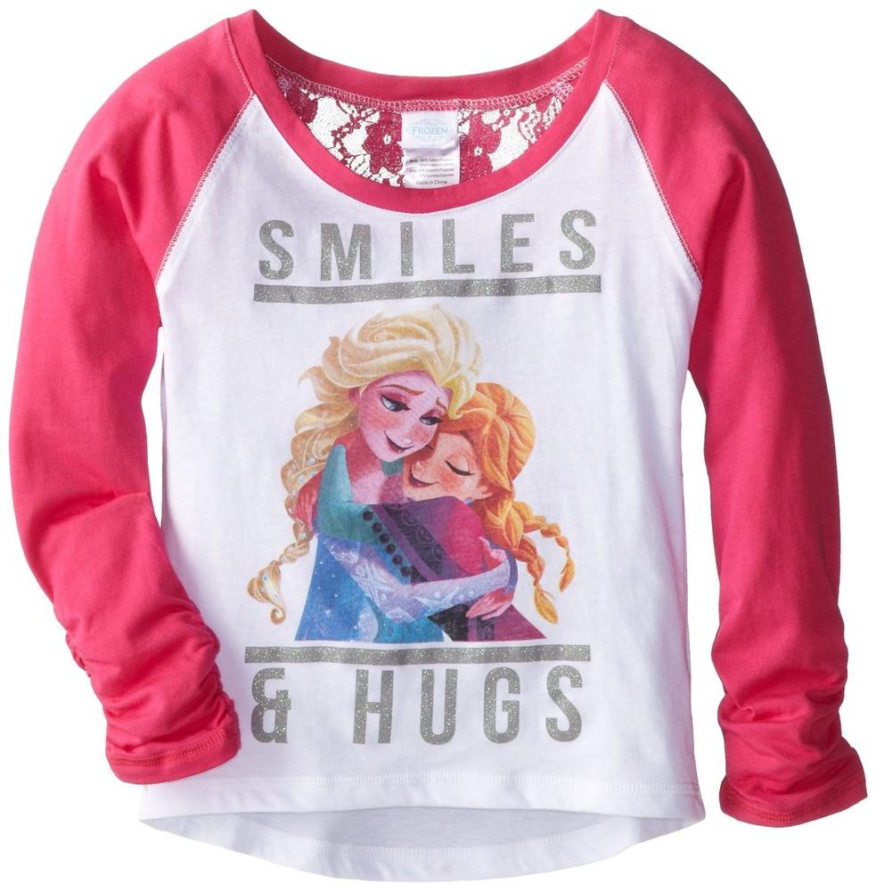Disney Frozen Sisters Smiles & Hugs Child T-Shirt