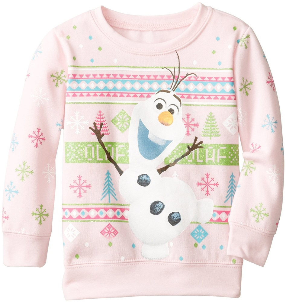 Disney Frozen Olaf Fleece Toddler Sweater