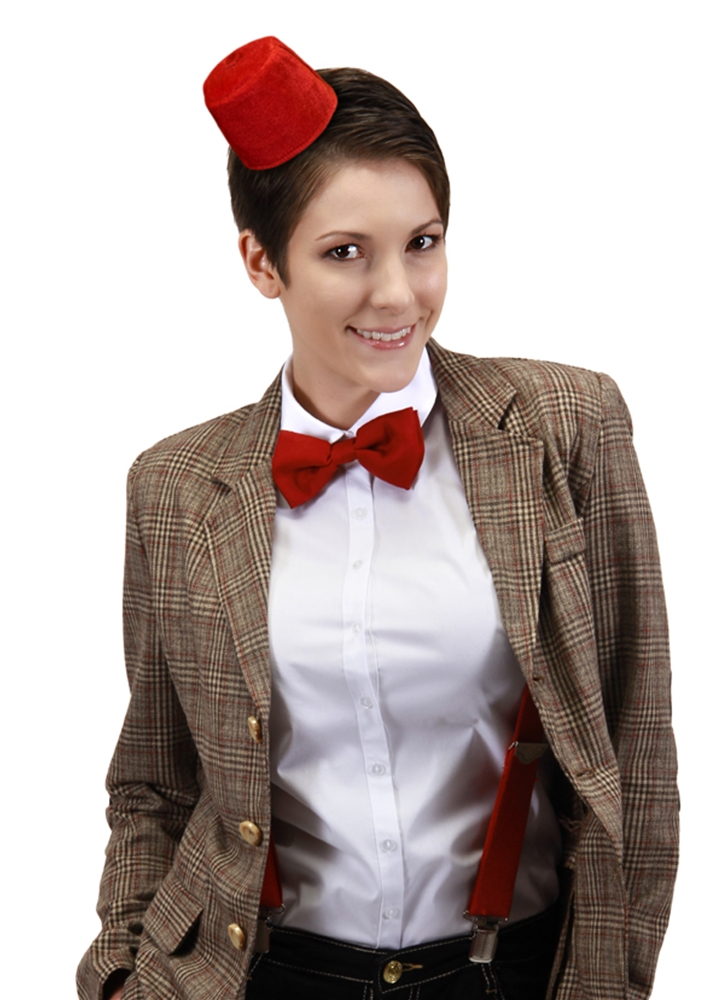 Doctor Who Mini Fez & Bow Tie Kit by Elope
