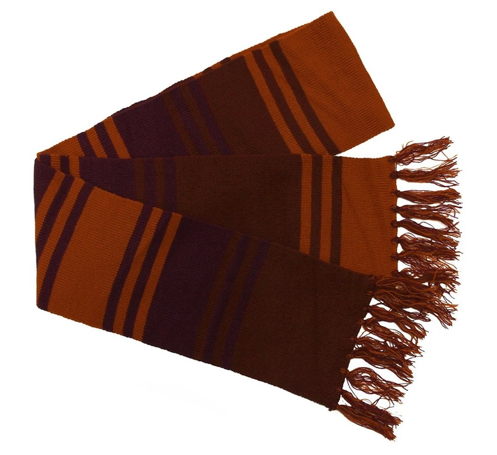 Doctor Who 4th Doctor Purple Scarf 6ft