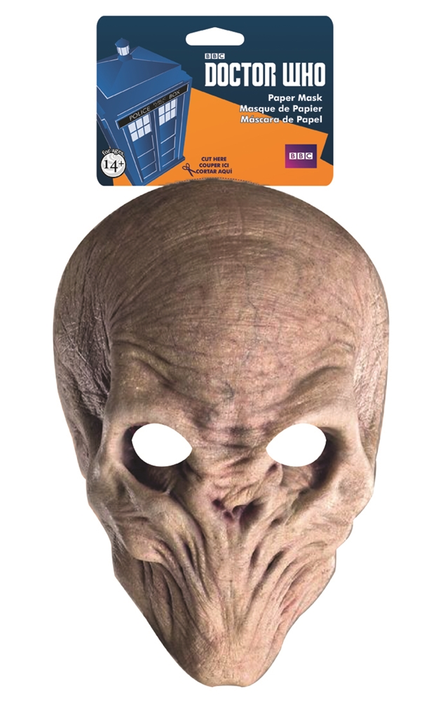 Doctor Who The Silence Paper Mask