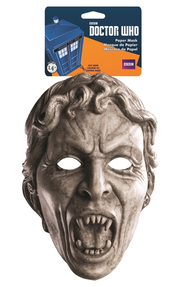 Doctor Who Weeping Angel Paper Mask