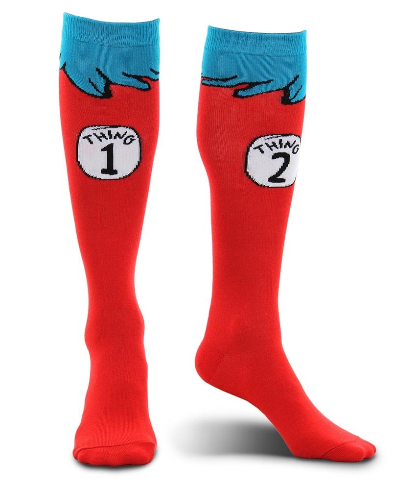 Dr. Seuss Thing 1&2 Child Socks