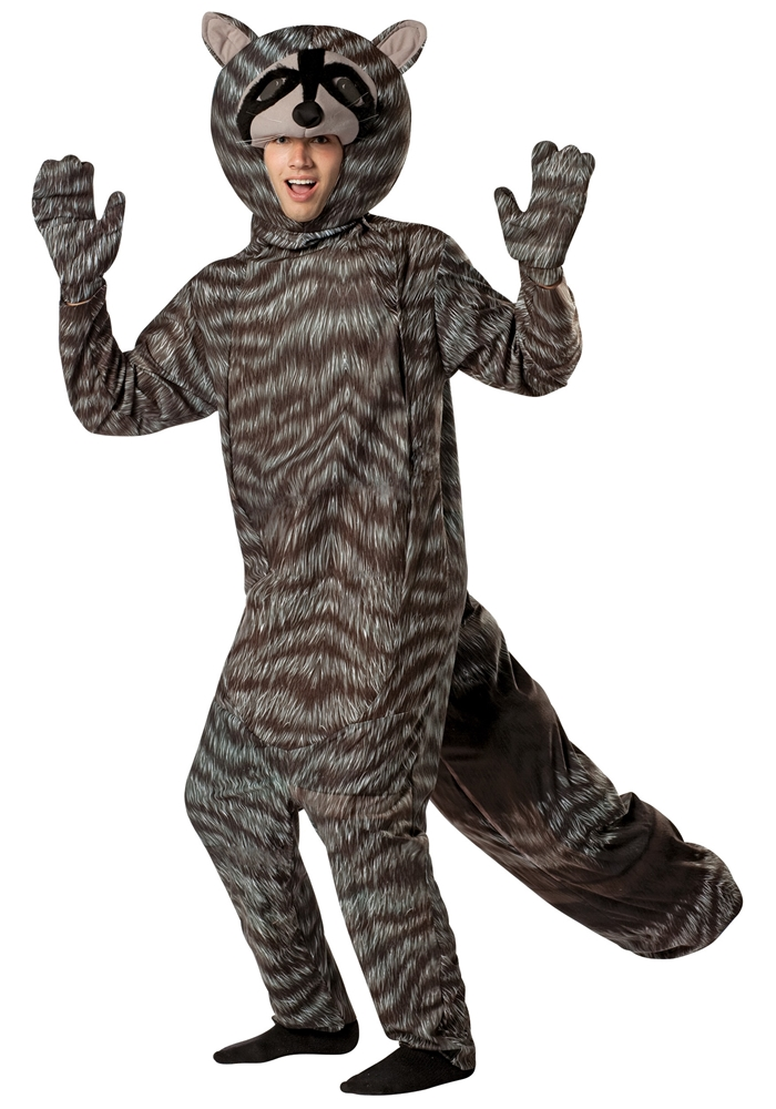 Raccoon Adult Unisex Costume