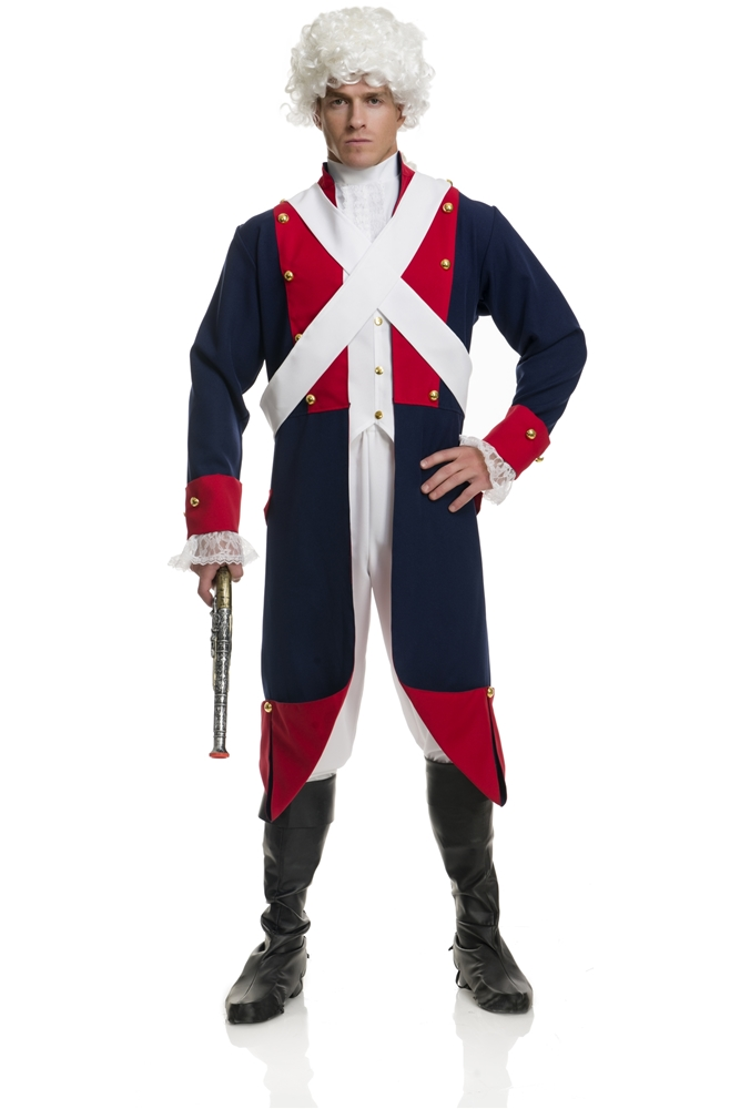 Revolutionary Soldier Adult Mens Costume