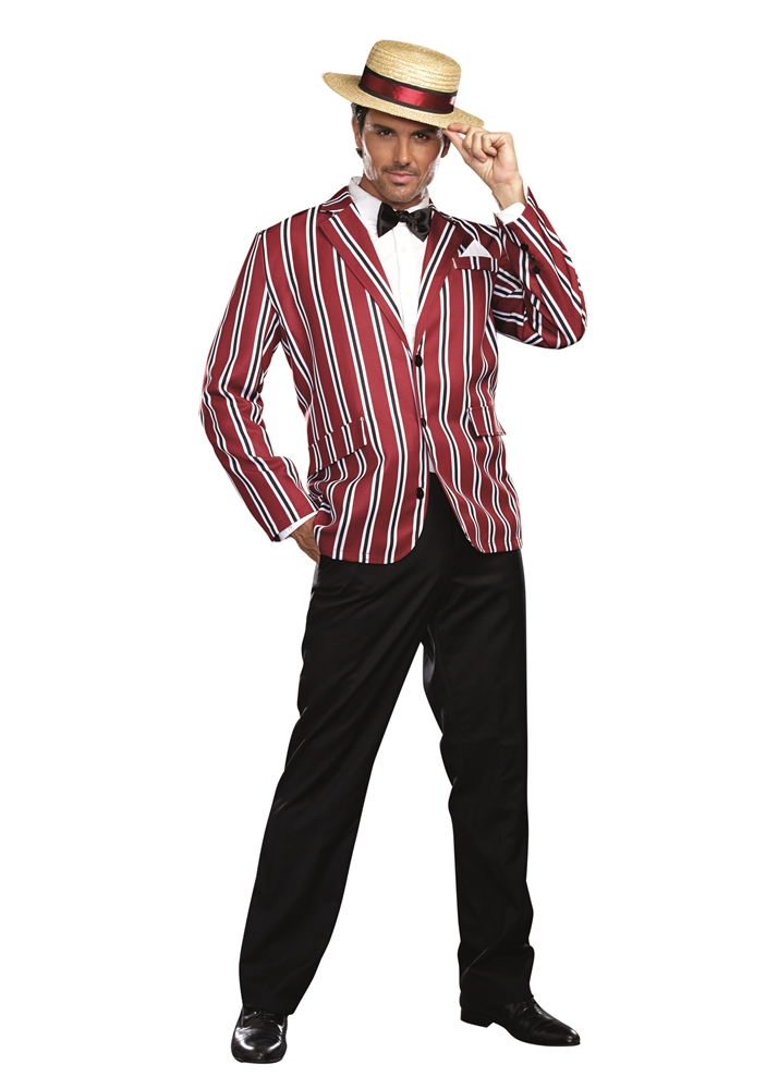 1920s Good Times Charlie Adult Mens Costume ()