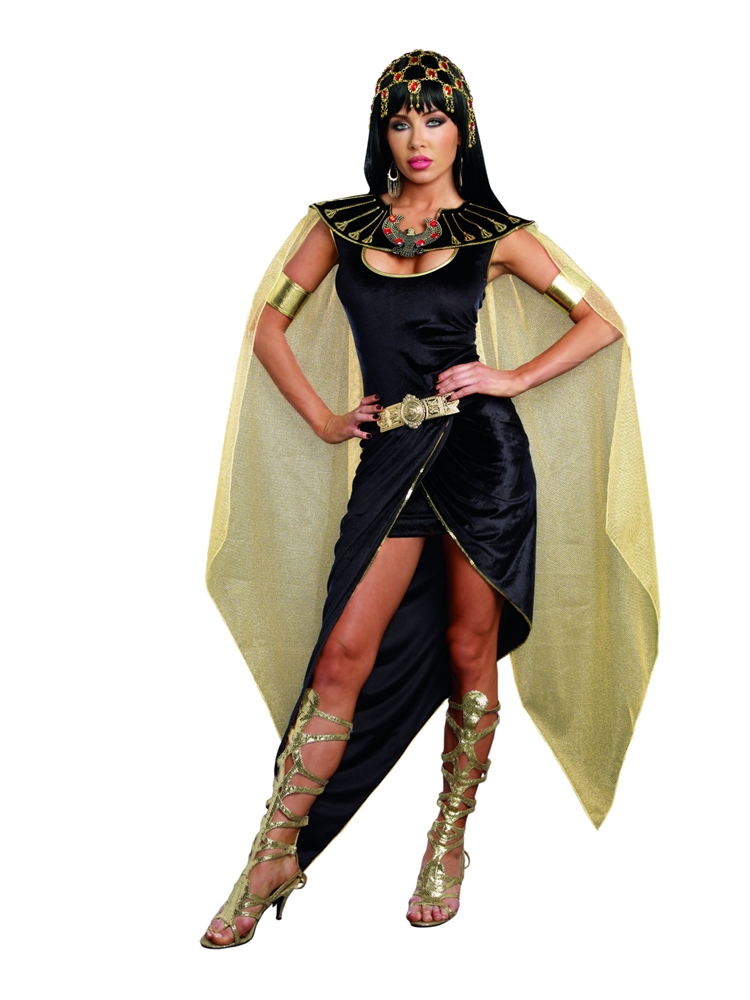 Egyptian Cleo Adult Womens Costume (Egyptian Women Costume)
