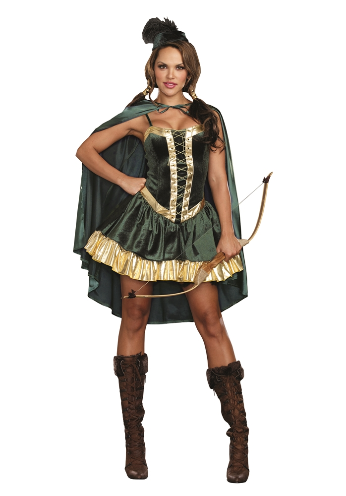 Robin Hood Cutie Adult Womens Costume