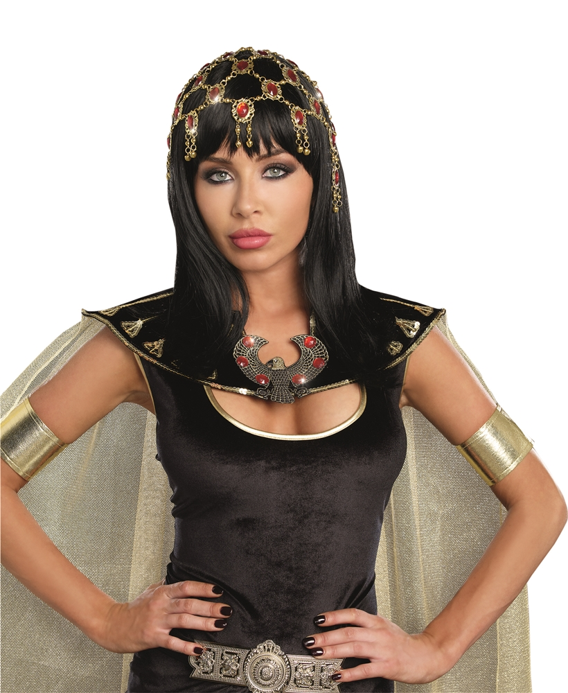 Egyptian Dazzling Gold Headpiece