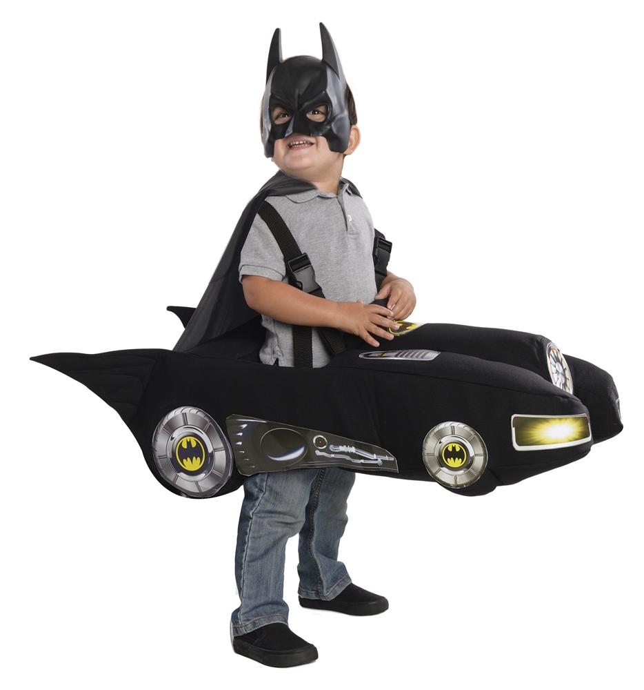 [Batman Batmobile Toddler Costume] (Toddler Batman Costumes)
