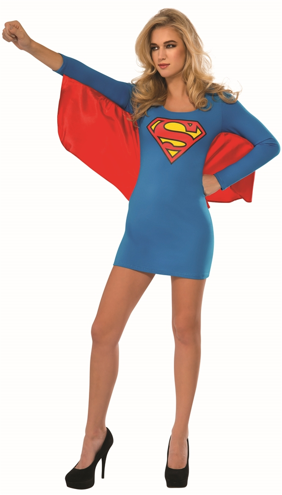 Supergirl Winged Adult Womens Dress