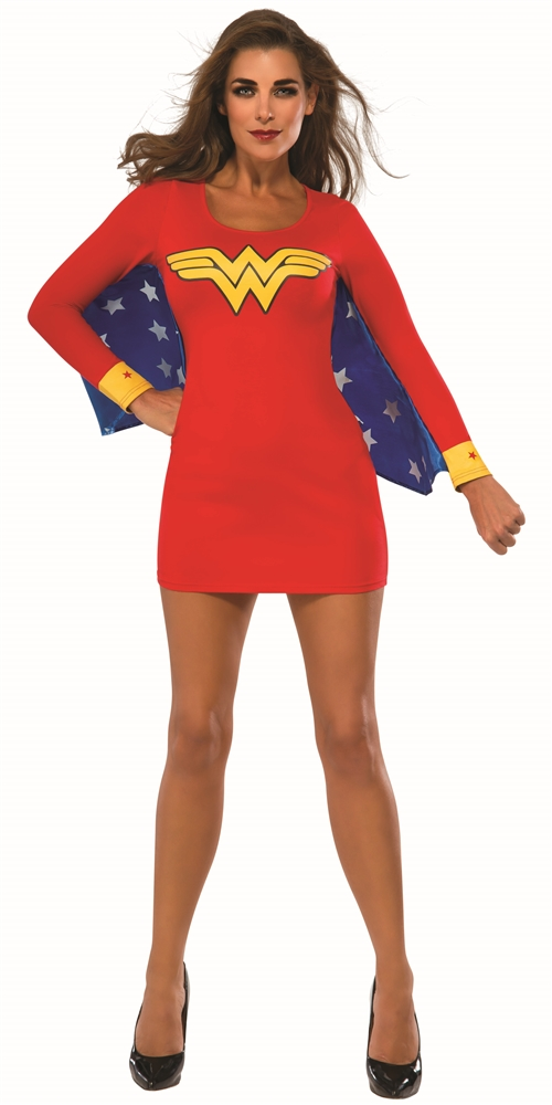Wonder Woman Winged Adult Womens Dress