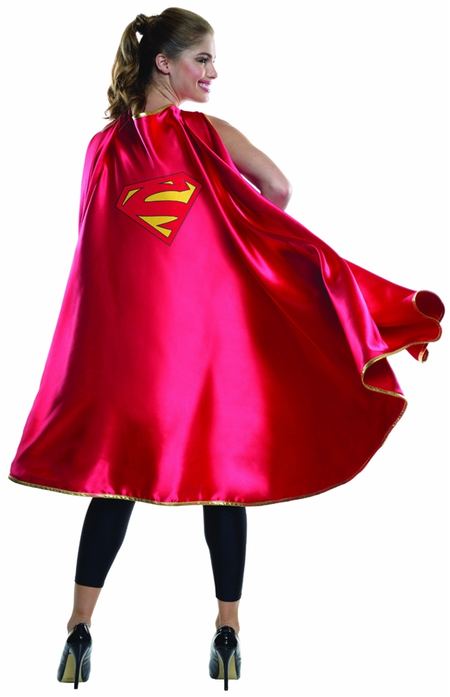 Supergirl Deluxe Adult Cape