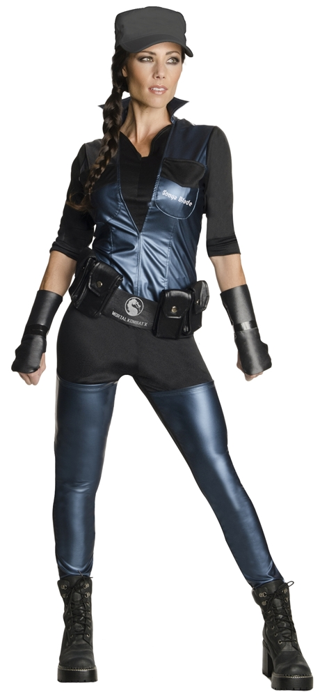 Mortal Kombat X Sonya Blade Adult Womens Costume