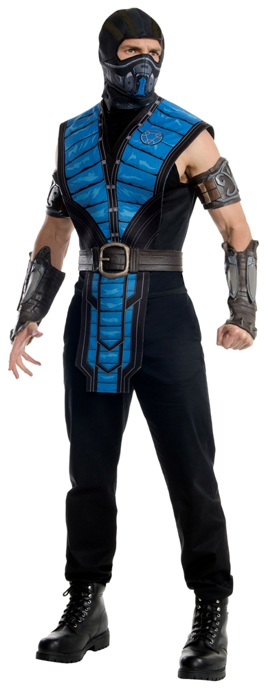 Mortal Kombat X Sub-Zero Adult Mens Costume (2)
