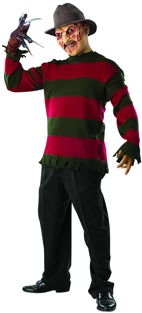 Freddy Krueger Deluxe Adult Sweater & Mask Set