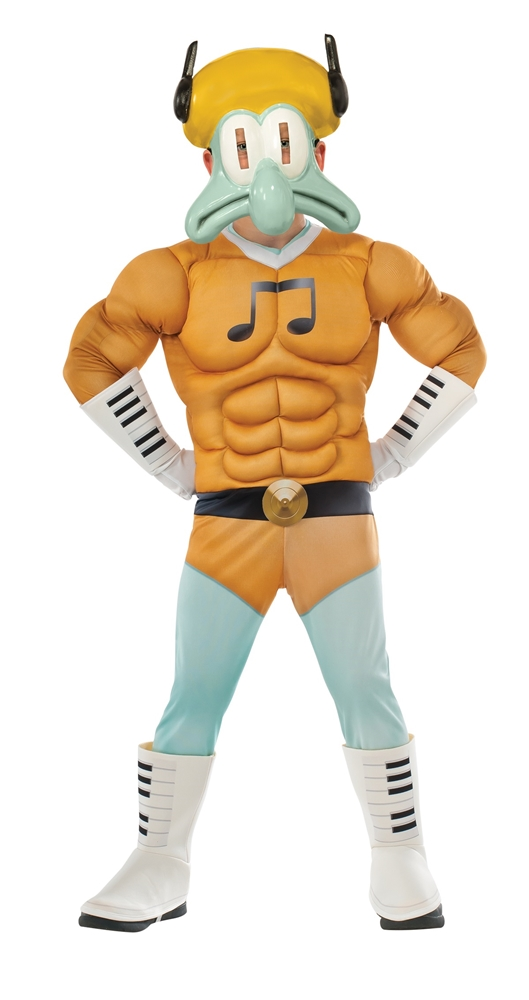 spongebob movie deluxe squidward child costume 345821