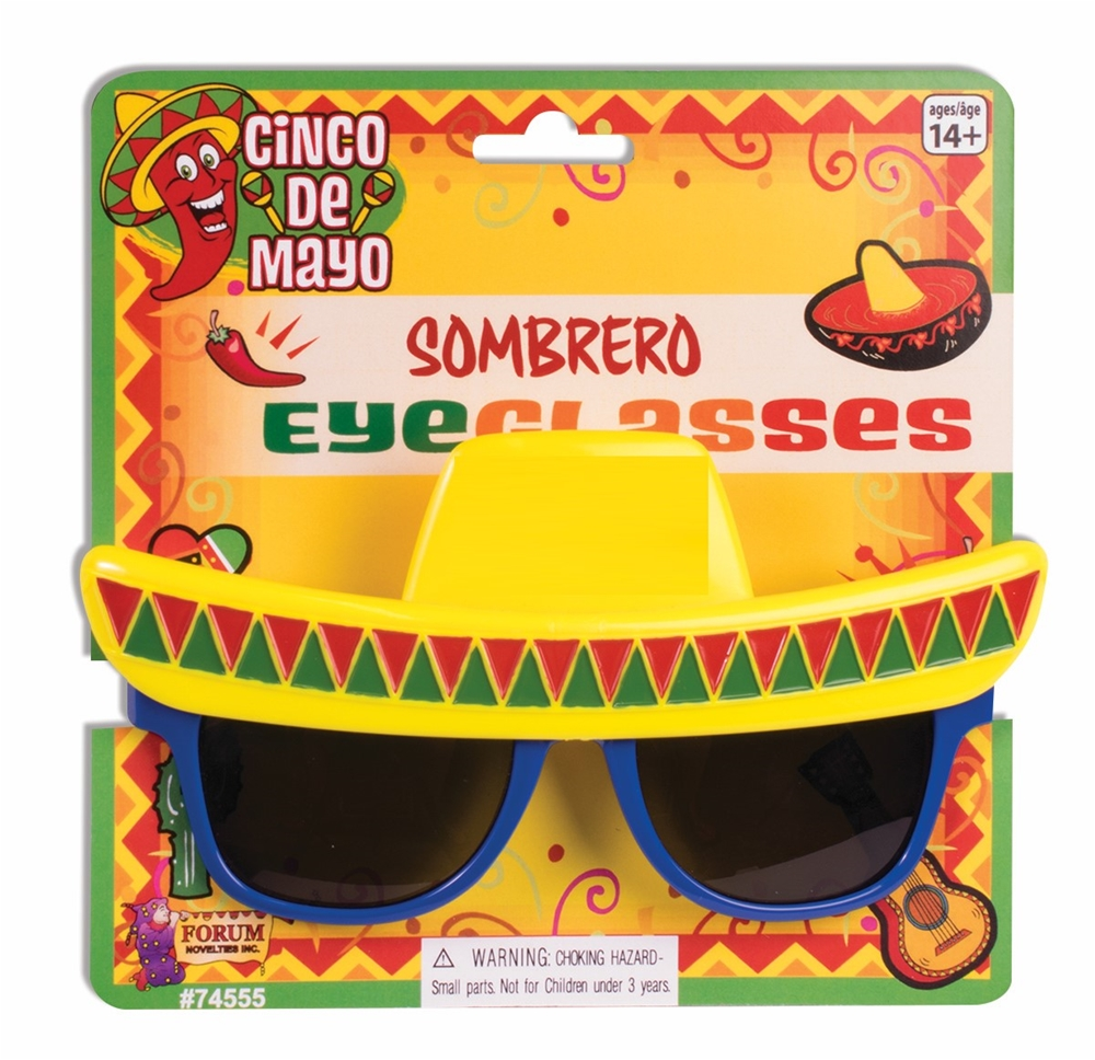 Sombrero Sunglasses by Forum Novelties