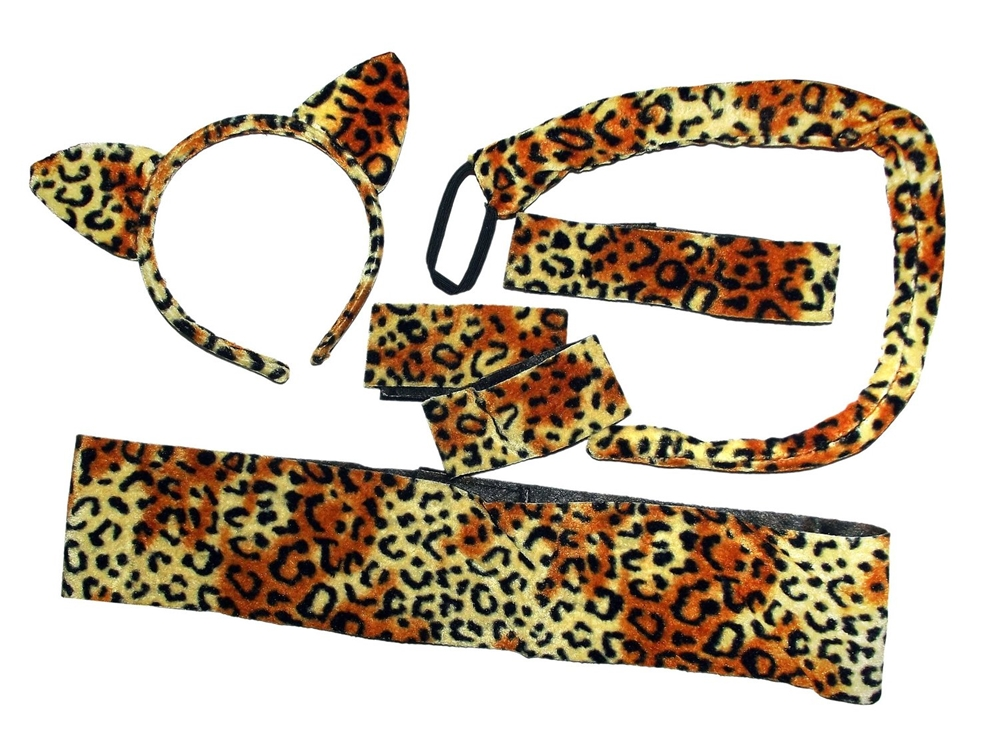 Sexy Leopard Adult Accessory Set